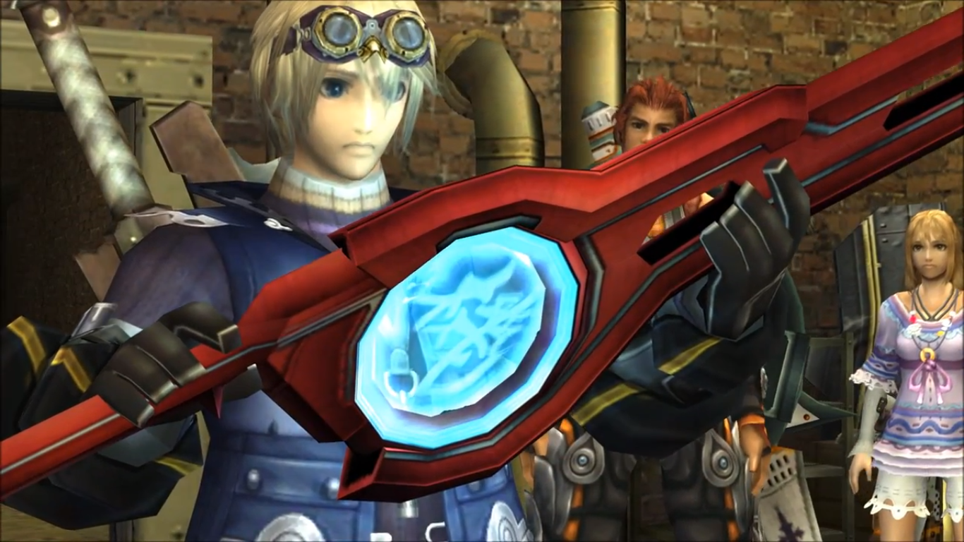 Shulk with Monado