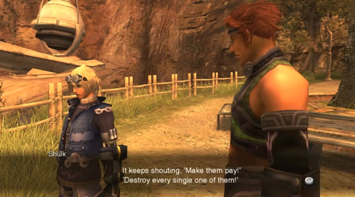 Shulk's Frustration