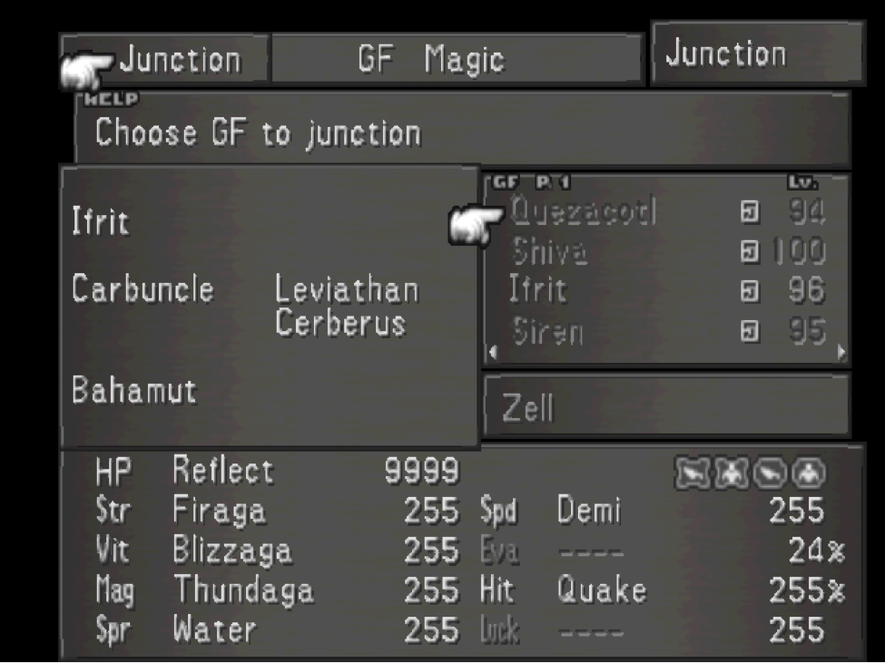FF Junction Screen