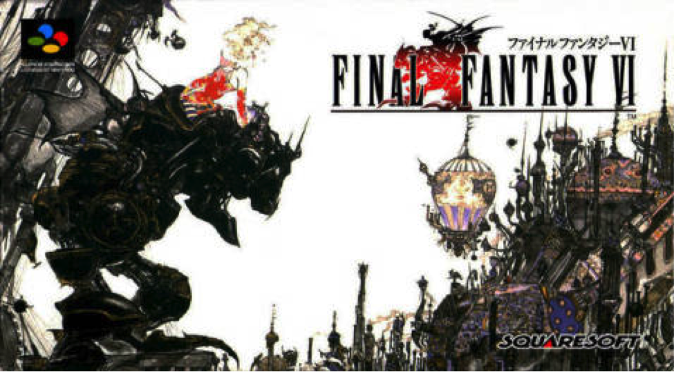 Final Fantasy VI Cover Art