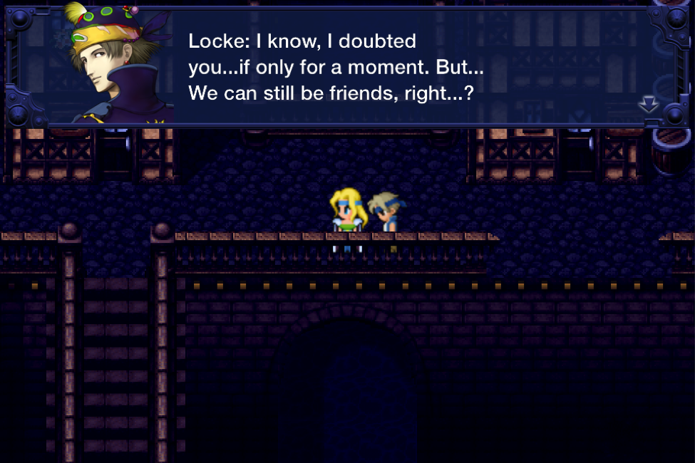 Locke and Celes