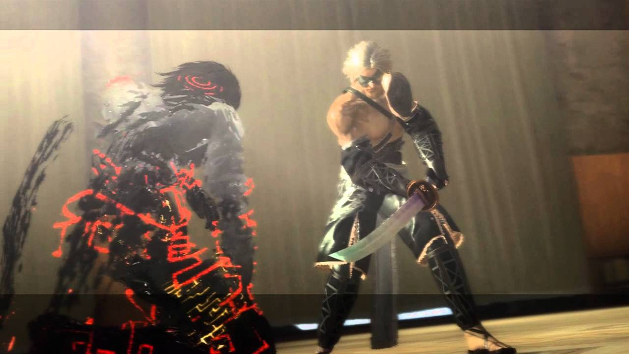 Nier killing the Shadowlord